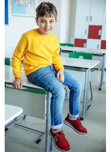 DeFacto Basic Sweatshirt Sarı